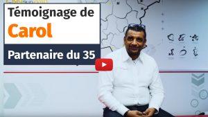 Témoignage de Carol, partenaire Plus que PRO en Ile-et-Vilaine