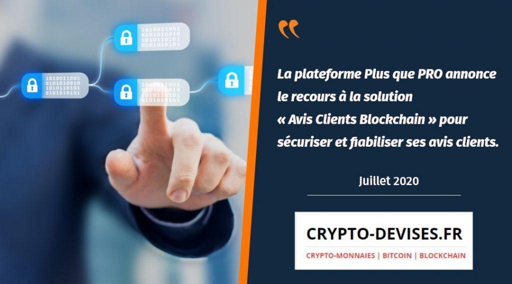 Crypto-Devises.fr parle d'Avis Clients Blockchain